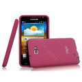 Imak silicone cases covers for Samsung Galaxy Note i9220 N7000 i717 - Rose (Screen protection film)