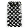Bling Point crystals cases diamonds covers for HTC Incredible S S710e G11 - Black