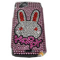 Rabbit bling crystals cases covers for Sony Ericsson Xperia Arc LT15I X12 LT18i - Pink