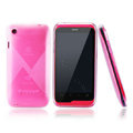 Nillkin Super Scrub Rainbow Cases Skin Covers for K-touch W700 - Pink