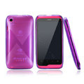 Nillkin Super Scrub Rainbow Cases Skin Covers for K-touch W700 - Purple