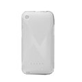 Nillkin Super Scrub Rainbow Cases Skin Covers for K-touch W700 - White