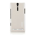 Nillkin bright side hard cases covers for Sony Ericsson LT26i Xperia S - White