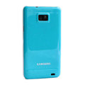 Piano paint Hard Back Cases Covers for Samsung i9100 Galasy S II S2 - Blue