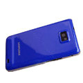 Piano paint Hard Back Cases Covers for Samsung i9100 Galasy S II S2 - navy