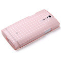 ROCK TPU soft cases skin covers for Sony Ericsson LT26i Xperia S - Pink