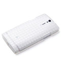 ROCK TPU soft cases skin covers for Sony Ericsson LT26i Xperia S - White