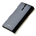 ROCK hard skin cases covers for Sony Ericsson LT26i Xperia S - Black