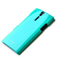 ROCK hard skin cases covers for Sony Ericsson LT26i Xperia S - Blue