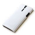 ROCK hard skin cases covers for Sony Ericsson LT26i Xperia S - White