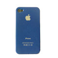Ultrathin Piano paint Hard Back Cases Covers for iPhone 4G/4S - Blue