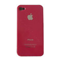 Ultrathin Piano paint Hard Back Cases Covers for iPhone 4G/4S - Red