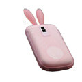 Rabbit TPU Soft Skin Cases Covers for Blackberry Bold 9000 - Pink