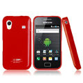 Boostar TPU soft skin cases covers for Samsung Galaxy Ace S5830 i579 - Red