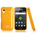 Boostar TPU soft skin cases covers for Samsung Galaxy Ace S5830 i579 - Yellow