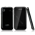 Boostar TPU soft skin cases covers for Samsung i9000 Galaxy S i9001 - Black