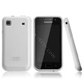 Boostar TPU soft skin cases covers for Samsung i9000 Galaxy S i9001 - White