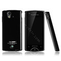 Boostar TPU soft skin cases covers for Sony Ericsson Xperia ray ST18i - Black