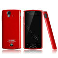 Boostar TPU soft skin cases covers for Sony Ericsson Xperia ray ST18i - Red