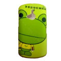 Cartoon Keroppi Scrub Hard Cases Covers for Sony Ericsson WT19i - Green