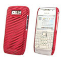 Mesh case skin cover for Nokia E71 - Red