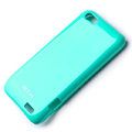 ROCK Colorful skin cases covers for HTC ONE V Primo T320e - Blue