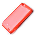 ROCK Colorful skin cases covers for HTC ONE V Primo T320e - Red