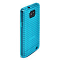 ROCK Magic cube TPU soft Cases Covers for Samsung i9100 i9108 Galasy S2 - Blue