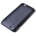 ROCK Quicksand hard skin cases covers for HTC ONE V Primo T320e - Black
