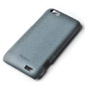 ROCK Quicksand hard skin cases covers for HTC ONE V Primo T320e - Gray