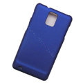 Scrub Hard Skin Cases Covers for Samsung infuse 4G i997 - Blue