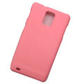 Scrub Hard Skin Cases Covers for Samsung infuse 4G i997 - Pink