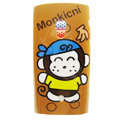 Cartoon Monkicni Hard Cases Skin Covers for Sony Ericsson X10i X10 - Brown