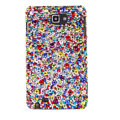 Bling S-warovski Crystals Cases Covers For Samsung Galaxy Note i9220 N7000 - Color