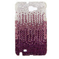 Bling S-warovski Crystals Cases Covers For Samsung Galaxy Note i9220 N7000 - Gradient Rose