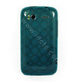 TPU Soft Skin Cases Covers for HTC Sensation 4G Z710e Z715e G14 G18 - Blue