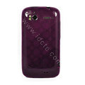 TPU Soft Skin Cases Covers for HTC Sensation 4G Z710e Z715e G14 G18 - Purple