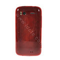 TPU Soft Skin Cases Covers for HTC Sensation 4G Z710e Z715e G14 G18 - Red