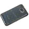 TPU Soft Skin Cases Covers for Samsung i9100 i9108 Galasy S II S2 - Black