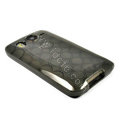 TPU Soft Skin Silicone Cases Covers for HTC G10 Desire HD A9191 - Black