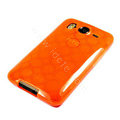 TPU Soft Skin Silicone Cases Covers for HTC G10 Desire HD A9191 - Orange