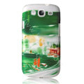 BASEUS Freedom of Oakland Hard Cases Covers for Samsung I9300 Galaxy SIII S3 - Green