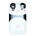 Cartoon Panda Hard Cases Skin Covers for Samsung Galaxy Ace S5830 i579 - Pink