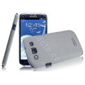 IMAK Cowboy Shell Quicksand Cases Covers for Samsung I9300 Galaxy SIII S3 - Gray
