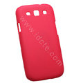 Nillkin Matte Hard Cases Skin Covers for Samsung I9300 Galaxy SIII S3 - Red