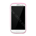 Nillkin Scrub TPU Soft Cases Skin Covers for Samsung I9300 Galaxy SIII S3 - Pink