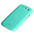 ROCK Colorful Glossy Cases Skin Covers for Samsung I9300 Galaxy SIII S3 - Blue