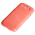 ROCK Colorful Glossy Cases Skin Covers for Samsung I9300 Galaxy SIII S3 - Red