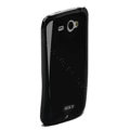 ROCK Colorful Glossy Cases Skin Covers for HTC Chacha G16 A810e - Black