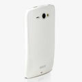 ROCK Colorful Glossy Cases Skin Covers for HTC Chacha G16 A810e - White